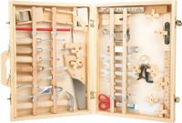 Small Foot case wooden tools Deluxe