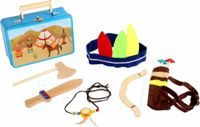 Small Foot children's suitcase Indian set