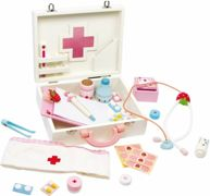 Small Foot children's wooden doctor case Isabel