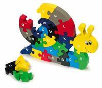 Small Foot insertion Puzzle snail