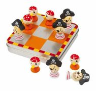 Small Foot party game magnetic tic-tac-toe Pirates