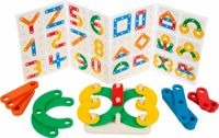 Small Foot puzzle game letters and numbers