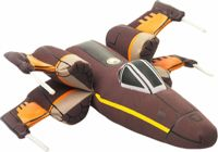 Small Foot Star Wars plush airplane X-Wing Fighter