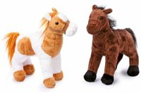 Small Foot stuffed horses Penny and Molly