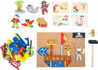 Small Foot wooden creative game Pirates