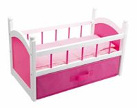 Small Foot wooden crib for dolls