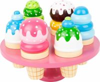 Small Foot wooden toy ice cream cone