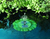 Smart Solar Lily Floating Fountain