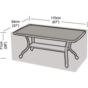 SmashingDealsDirect Lightweight and Durable Outdoor Waterproof Cover for Garden Table and Chairs L170 x W94 x H71cm