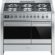 Smeg A2-81 100cm 'Opera' Dual Fuel Range Cooker - STAINLESS STEEL