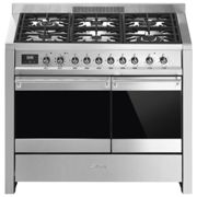 Smeg A2PY-81 100cm Opera Pyrolytic Dual Fuel Range Cooker - STAINLESS STEEL