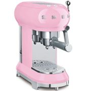 Smeg ECF01PKUK Espresso Machine in Pink