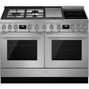 Smeg Portofino CPF120IGMPX 120cm Dual Fuel Range Cooker - Stainless Steel - A+/A Rated