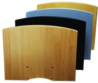 SMS flatscreen shelf H series - black