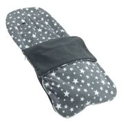 Snuggle Summer Footmuff Compatible With Joie Aire - Grey Star
