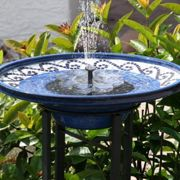 Solar Water Fountain Water Features Garden Floating Solar Fountain New