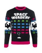 Space Invaders Christmas Jumper / Ugly Sweater - UK XL / US L