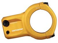 Spank Spoon 350 Stem Gold, Size 45 mm - Unisex Cycling Accessory, Color Yellow