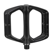 Spank Spoon DC Flat Pedal Black, Size One Size - Unisex Cycling Accessory, Color Black