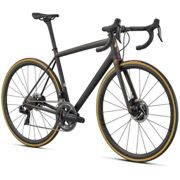 Specialized S-works Aethos Dura Ace Di2 Road Bike 54 Satin Carbon / Red Gold Chameleon / Bronze Foil