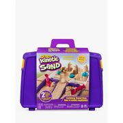 Spin Master Kinetic Sand, Folding Sand Box with 2lbs of Kinetic Sand and Mold and Tools, Play sand Kinetic Sand , Folding Sand Box with 2lbs of and Mold and Tools, Multicolor, 5 yr(s), Boy/Girl, Indoor, Not for children under 36 months, 900 g