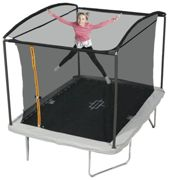 Sportspower 10ft x 8ft Rectangular Trampoline with Enclosure