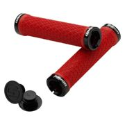 SRAM Locking Grips - Red - 135mm, Red