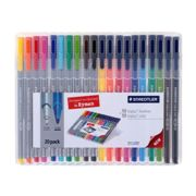 Staedtler Triplus Colour and Fineliner Pack of 20, Assorted