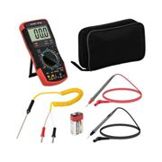 Steinberg Systems Digital Multimeter - 2,000 counts - hFE transistor test - temperature reading SBS-DM-1000