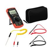 Steinberg Systems Digital Multimeter - 6,000 counts - hFE transistor test - NCV - temperature reading - true RMS - bar graph SBS-DM-1000TR