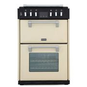 Stoves Richmond R600DFCRM 60cm Dual Fuel Double Freestanding Cooker-Cream