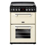 Stoves Richmond R600GCRM 60cm Gas Double Freestanding Cooker-Cream