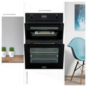 Stoves STBI900GBK Built In Gas Double Oven Black