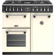Stoves Richmond Deluxe RCHDXS900DFCC 90cm Dual Fuel Range Cooker Classic Cream