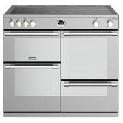 Stoves Sterling Deluxe STRDXS1000EiSS 100cm Electric Induction Range Cooker Stainless Steel