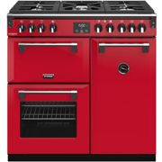 Stoves Colour Boutique Collection Richmond Deluxe S900G CB 90cm Gas Range Cooker - Hot Jalapeno - A/A/A Rated