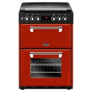 Stoves RICH600DFJAL 4724 60cm Richmond Dual Fuel Cooker - RED