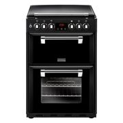 Stoves Richmond 600DF Black Dual Fuel Cooker with Double Oven