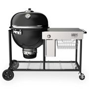 Summit® Kamado S6 Charcoal Grill Centre black