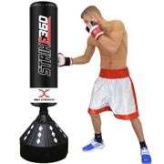 Super Heavy 6ft Free Standing Punch Bag Duty Boxing Kick Stand Gym Training