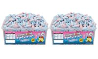 Sweetzone Halal Giant Sweet Tubs: Fizzy Blue Bottles 1200 Pieces