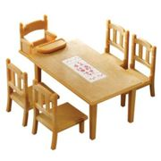 Sylvanian Families Family Tables And Chairs