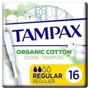 Tampax Organic Cotton Protection Regular Tampons Applicator x16