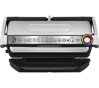 TEFAL Optigrill XL GC722D40 Grill - Stainless Steel & Black, Stainless Steel Stainless Steel