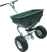 The Handy 125lbs Push Spreader