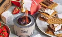 The Naked Marshmallow Co. Gourmet Marshmallow S'mores Kit with Gel Burner