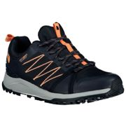 The North Face Litewave Fast Pack Ii Wp Hiking Shoes EU 36 Urban Navy / Cantaloupe