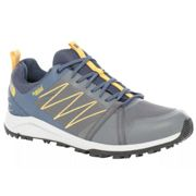 The North Face Litewave Fast Pack Ii Wp Hiking Shoes EU 42 1/2 Zinc Grey / Shady Blue