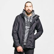 The North Face Men's Evolution II Triclimate 3 in 1 Jacket - Black, Black