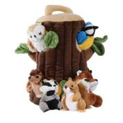 The Puppet Company - Puppets Tree House Hide Away In Brown